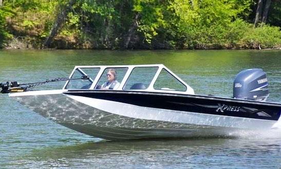 21' Bass Boat Rental In Cypress, Tx