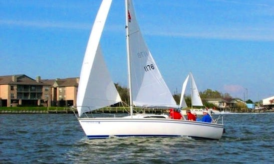 Rent 26ft 'on Belay' Colgate Sailboat In Kemah, Texas