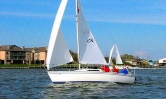 Rent 26ft 'On Belay' Colgate Sailboat In Kemah, Texas