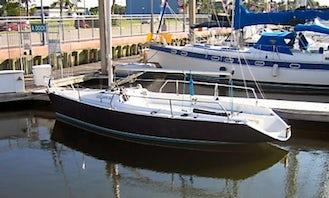 Rent 26ft 'Takin Names' Colgate Sailboat In Kemah, Texas