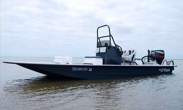 """Rent 24ft """"El Pescador"""" Fishing Boat In Galveston, Texas"""