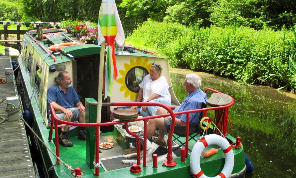 Charter the Cruising Barge In Saint Mullin's