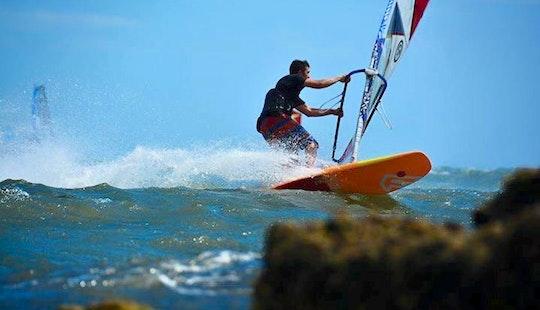 Wind Surfing Lesson In Saint Kilda West