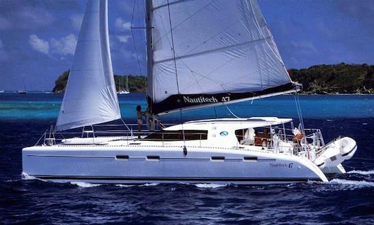 Nautitech 47 Yacht In Seychelles