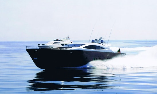 Captained Charter On Italcraft 105 Power Mega Yacht In Sardinia, Italy