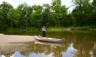 Ouachita River Ranch Canoe Fishing