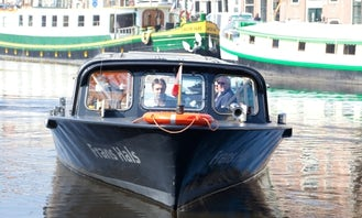Canal Boat Trips in Haarlem, Netherlands