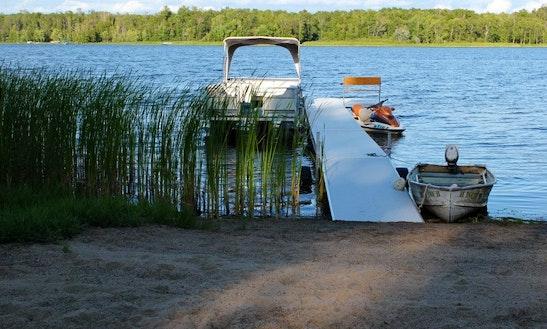 Bass Boat Fishing Trips In Hill Lake Township, Minnesota