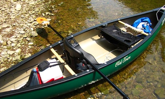 Solo Canoe Rental On Antietam Creek