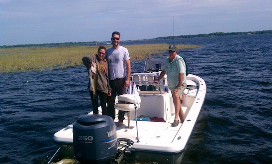 17' Bass Boat Charter In Kissimmee, Florida