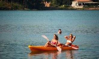 Rent a Tandem Canoe in Kerkira, Greece!