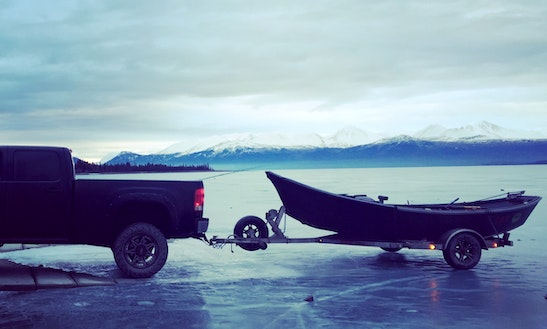 Alaskan Fishing Tour On Drift Boat