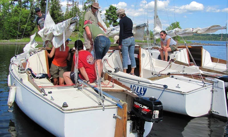 Sailboat Docking Lessons In Ottawa