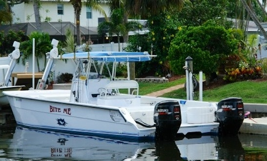 Captain Only 32' Center Console Fishing Charter In Jupiter, Florida