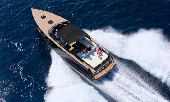 Vandutch 40 Motor Yacht Charter For 10 People In Cannes