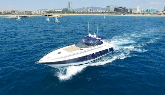 52' Motor Yacht Charter In Barcelona, Spain