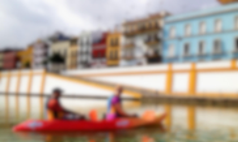 Guadalquivir Kayak Tour and Tapas in Seville