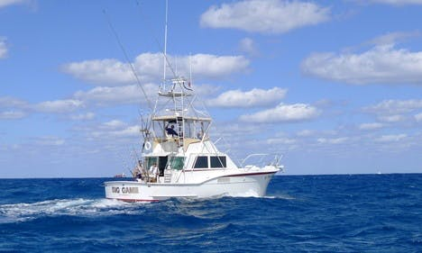 "48' Hatteras Fishing Charter on ""Big Game"" in Fort Lauderdale"