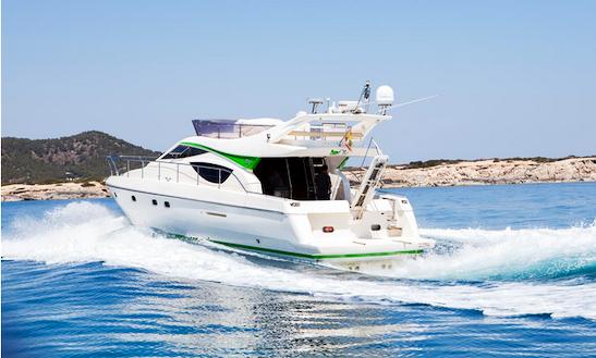 Ferretti 460 Motor Yacht Charter In Spain