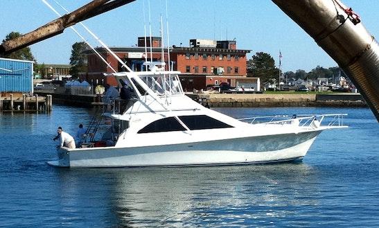 Charters 48' Ocean Motor Yacht In Gloucester, Massachusetts