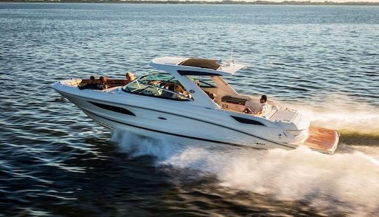 Luxury ''sea Ray 350 Slx'' Motor Yacht Charter In Spain