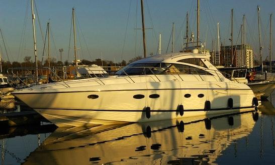 49' Princess Motor Yacht Charter In London, United Kingdom
