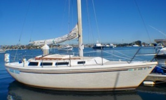 Catalina 30 For Charter Or Sleep Aboard In Newport Beach