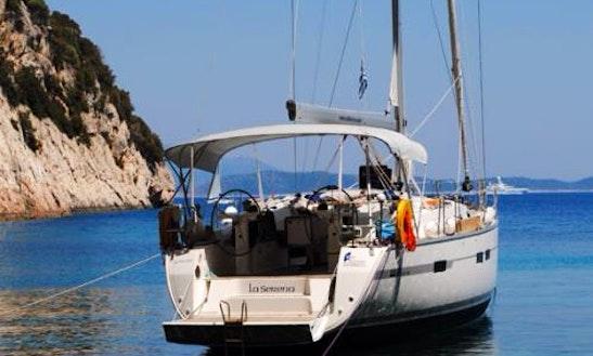 Cruising Monohull Rental In Kefallonia