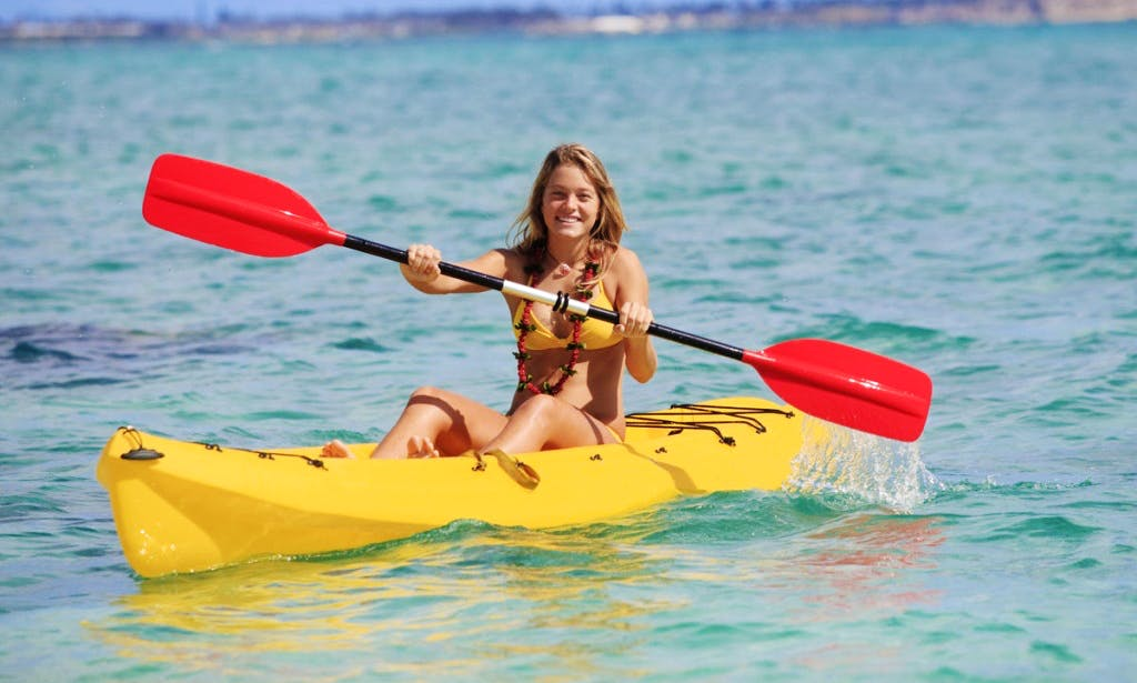 Rent a Kayak and Create Your Own Adventure on Moraira Coast in Spain!