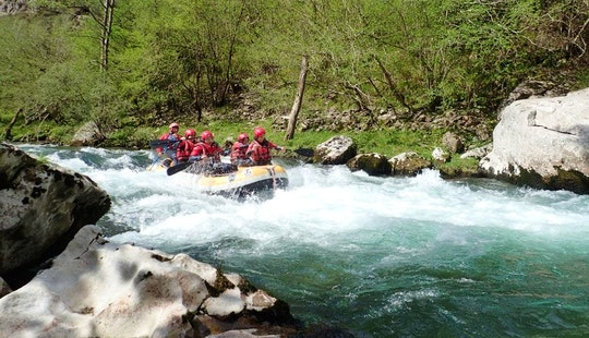 White Water Rafting Trips In River Porma