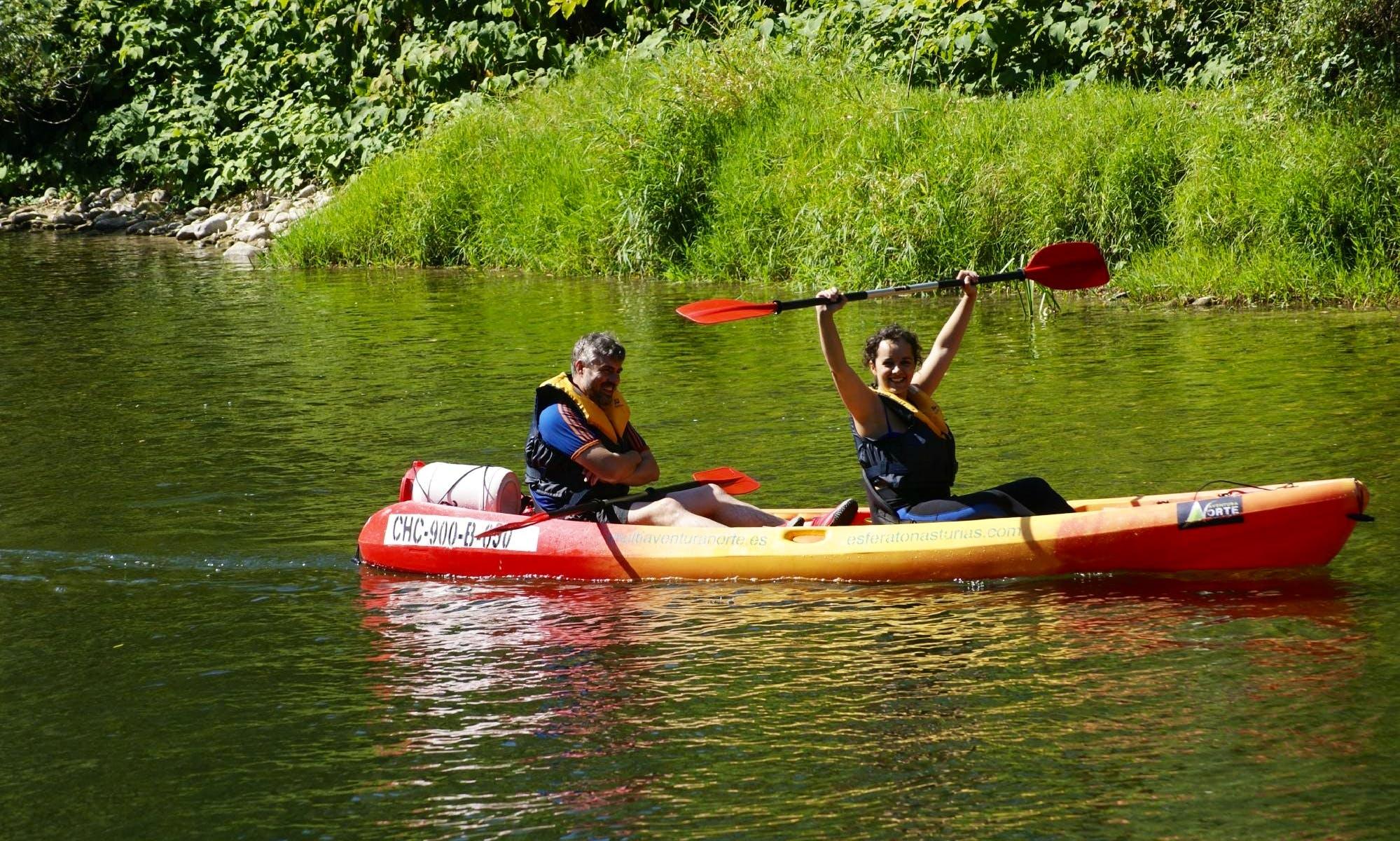 Kayak Descending Trips in Arriondas