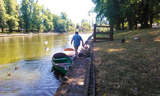 Row Boat For Hire In Evesham