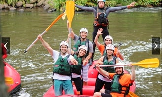 Rafting, fun, adrenaline & safety in Três Coroas, Serra Gaúcha