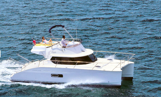 Highland 35' Power Catamaran Tours In Santorini, Greece