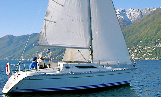 7 Person Daysailer Charter In Ascona, Switzerland