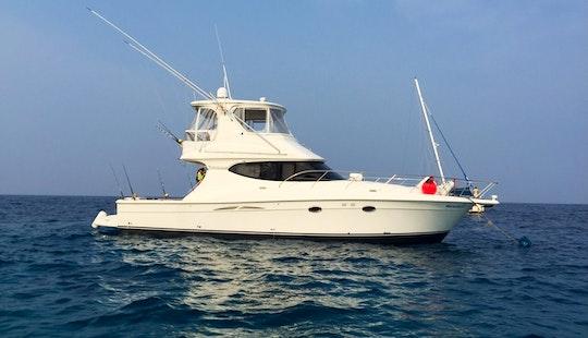 Silverstone 50 Ft Pleasure And Fishing Yacht Charter, Phuket