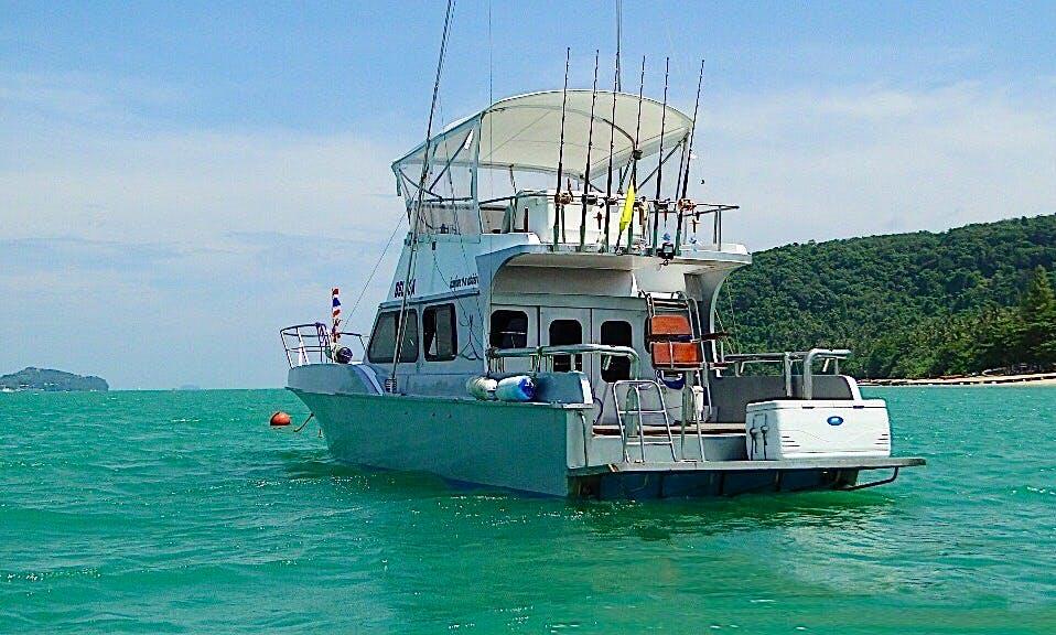 2015 Fishing Boat Charter, Phuket