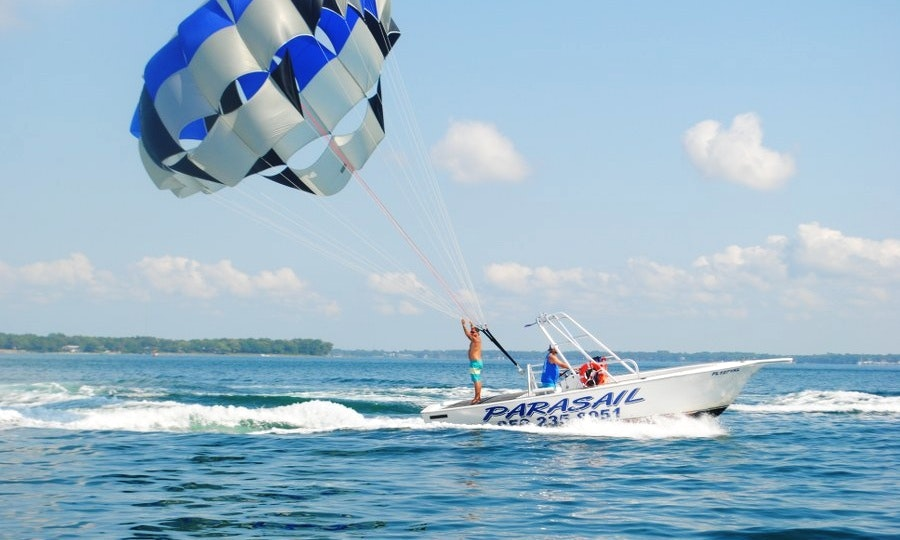 Lastest Parasailing Rides In Panama City Beach  GetMyBoat