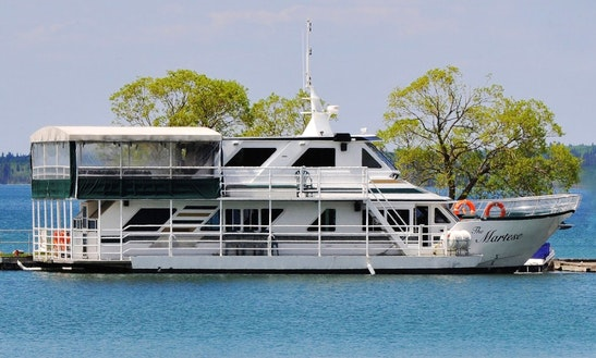 The Martese Boat Cruises In Clear Lake Township