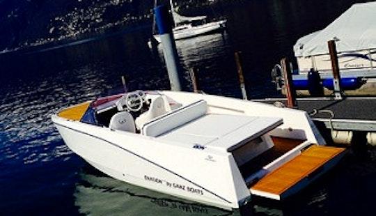 Ovation 6.8 Deck Boat Rental & Trips In Ascona, Switzerland
