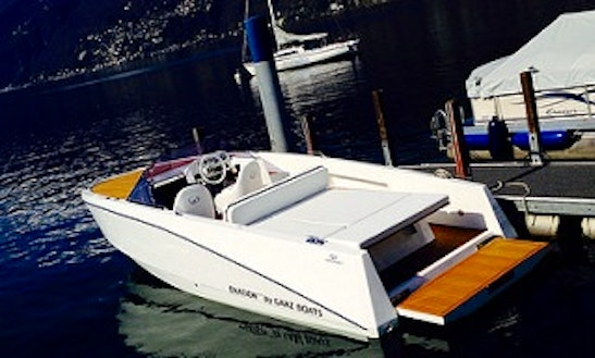 Ovation 6.8 Deck Boat Rental & Trips In Ascona, Switzerland