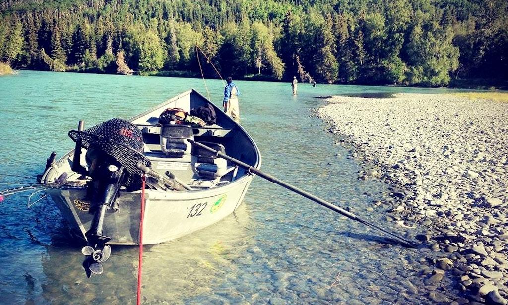 20 39 jon boat rental in cooper landing alaska getmyboat for Cooper landing fishing