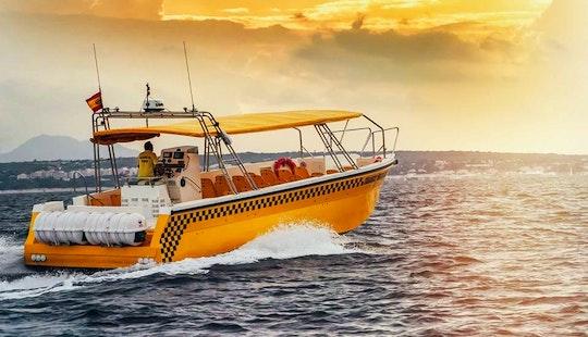 Water Taxi In Tabarca Island