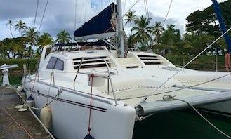 "Captained Charter on 47ft ""Victoria"" Leopard Catamaran in San Blas Islands"