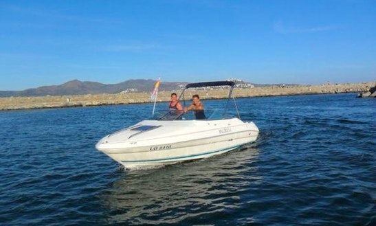Rent 20' Sea Ray Powerboat In Ampuriabrava