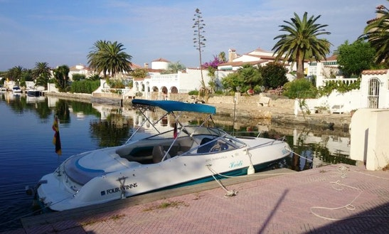 Rent 20' Four Winns Boat In Empuriabrava