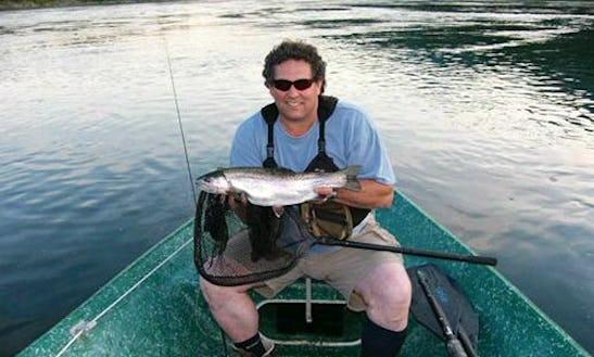 16' Jon Boat Fishing Trips In Castlegar, Canada