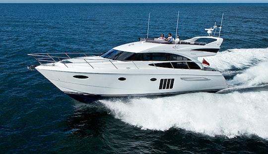 Enjoy My White Pearl P60 Motor Yacht  In Phuket, Chang Wat Phuket