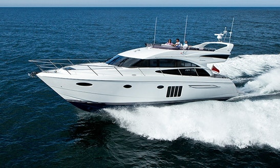 Enjoy My White Pearl P60 Motor Yacht  In Phuket, Chang Wat Phuket