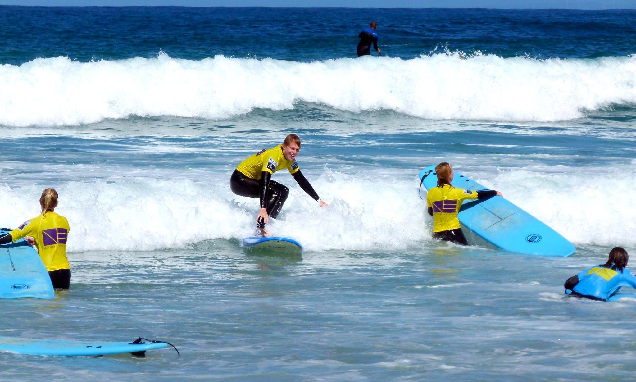Surfing Best Experience in Ferrel